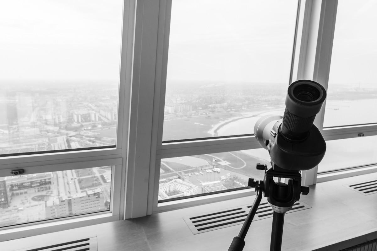 Utsikt från våning 53 Turning Torso